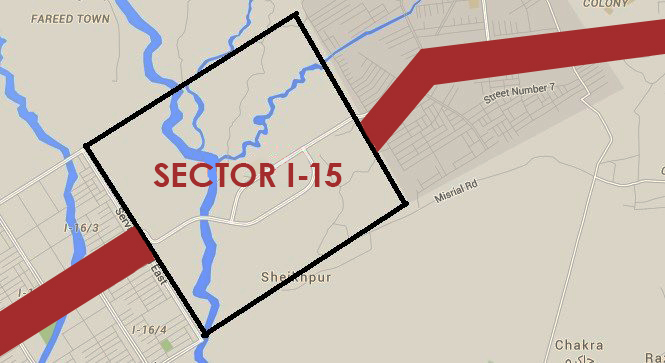 CDA to start development work of sector I-15 in near future
