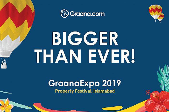 GraanaExpo 2019, Property Festival, Islamabad taking off