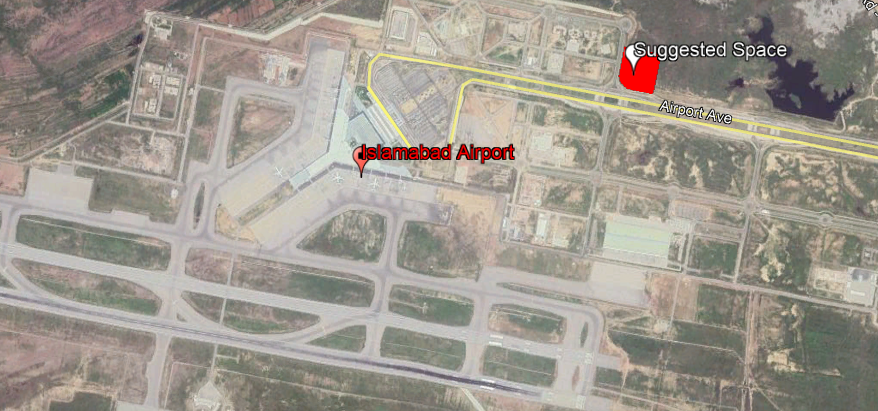 New international Islamabad air port construction