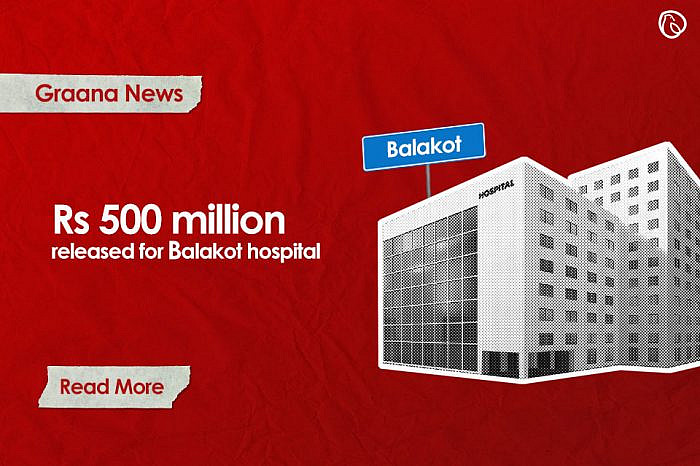 Balakot Hospital gets Rs.500 million construction funds