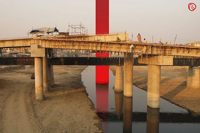 Burma Bridge construction begins on Lehtrar Road