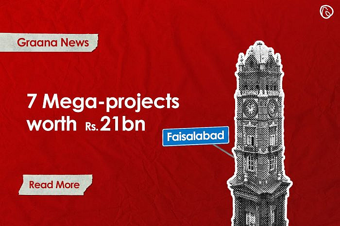 Seven mega-projects worth Rs21bn introduced in Faisalabad by CM Punjab