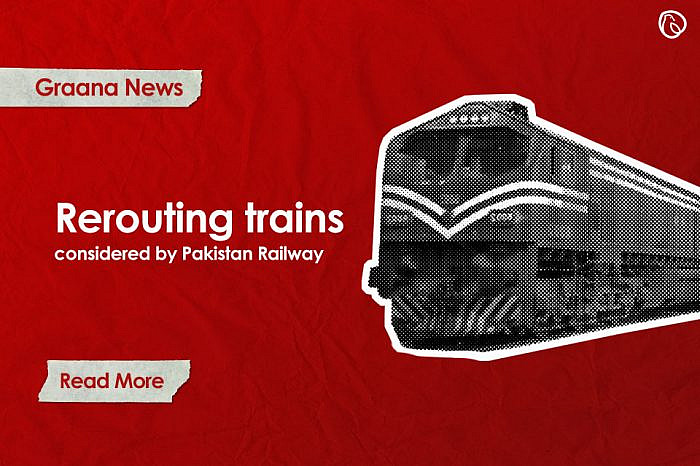 Rerouting of trains considered by Pakistan Railways