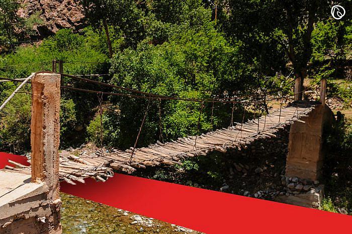 Bridge rebuilt on self-help basis in Shangla