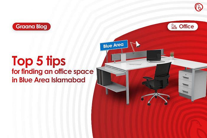 Top 5 tips for finding an office space in Blue Area Islamabad