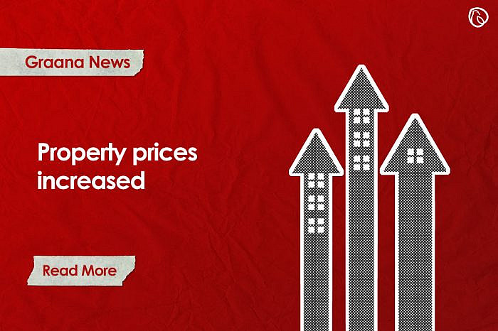 Property prices increased in 20 cities