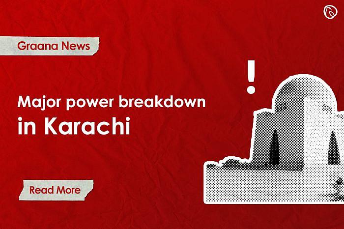 Major power breakdown in Karachi