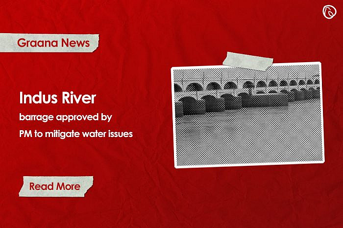 Indus River barrage approved by PM to mitigate water issues