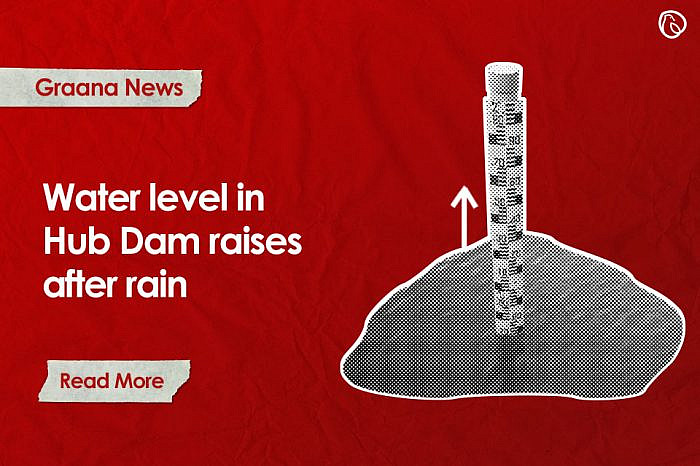 Water level in Hub Dam raises after rain