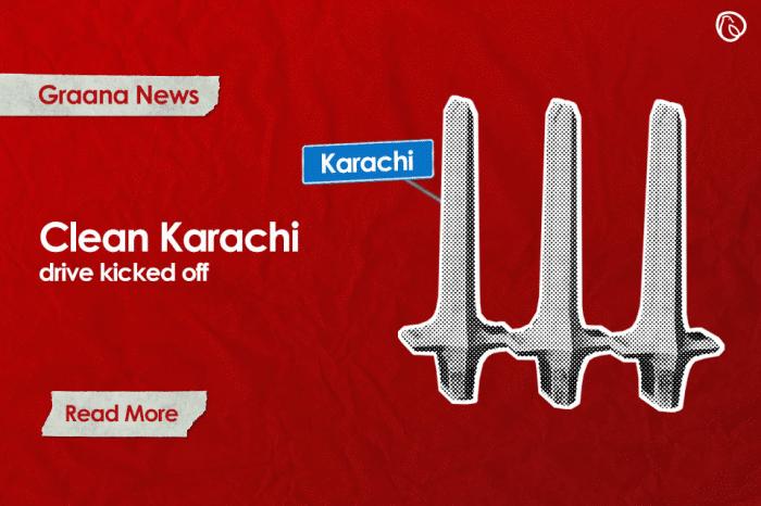 'Clean Karachi' drive kicked off