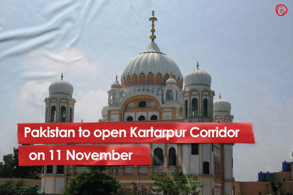 Kartarpur Corridor to be opened on 11 November