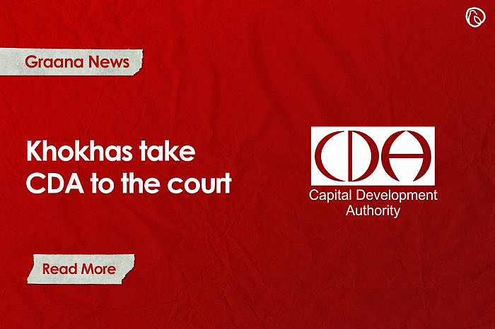 Khokhas take the CDA to court