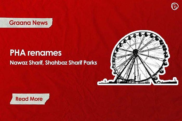 PHA renames Nawaz Sharif, Shahbaz Sharif Parks