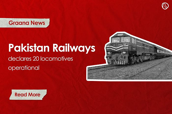Pakistan Railways declares 20 locomotives operational