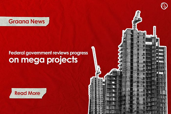 Federal government reviews progress on mega projects