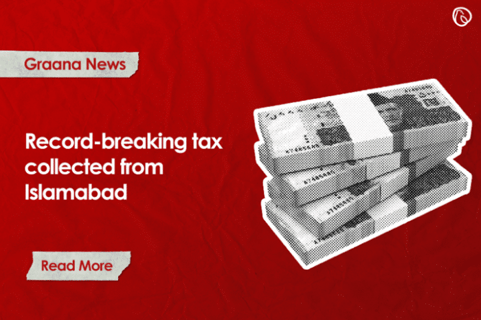 Record-breaking tax collected from Islamabad