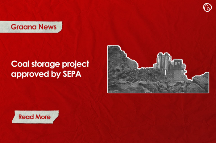 Coal storage project approved by SEPA
