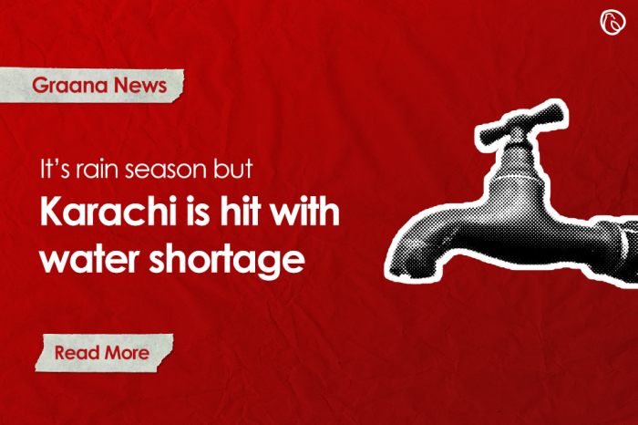 Karachiites face water shortage
