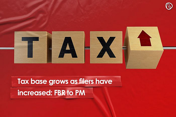 Tax base grows as filers have increased: FBR to PM