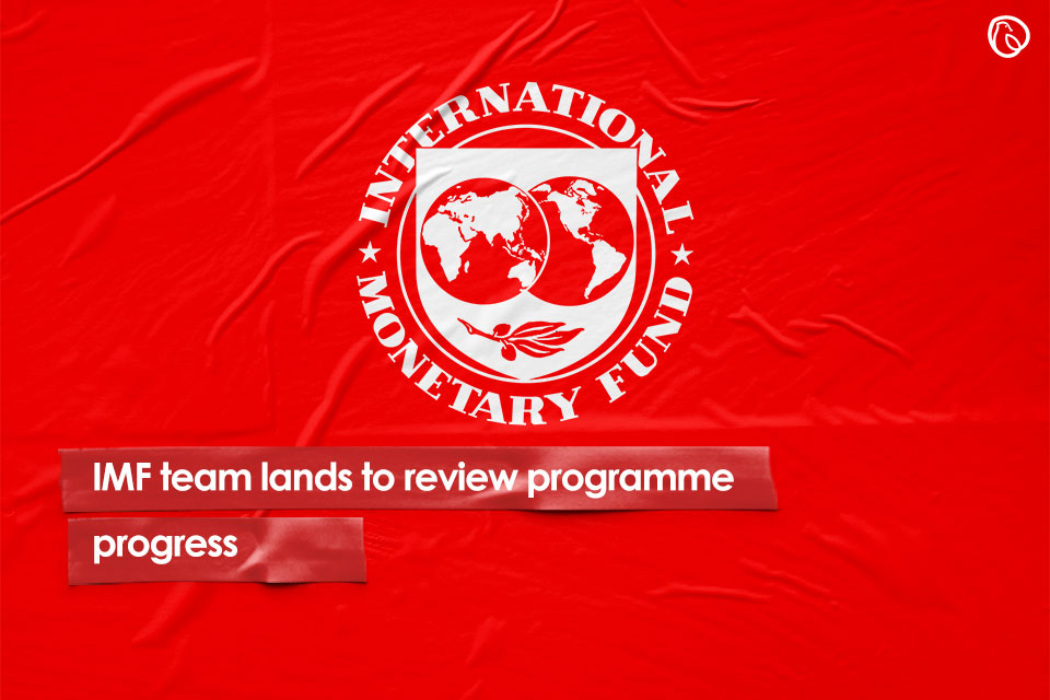 IMF team lands to review programme progress