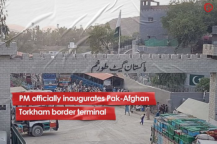 PM officially inaugurates Pak-Afghan Torkham border terminal