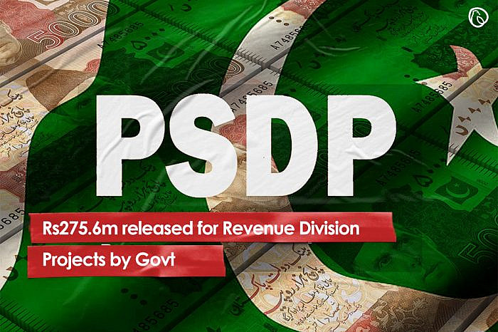 Rs275.6m released for Revenue Division projects by Govt