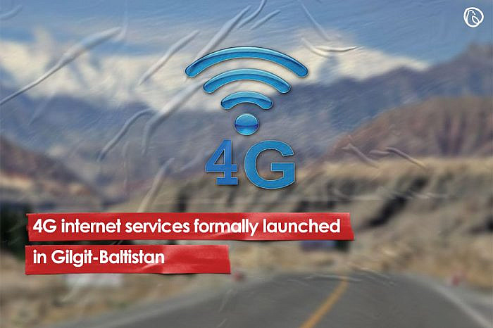 4G internet services formally launched in Gilgit-Baltistan