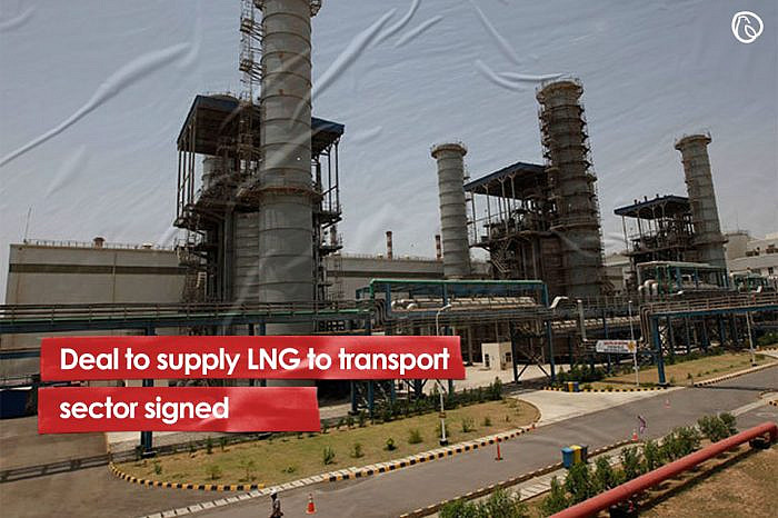 Deal to supply LNG to transport sector signed