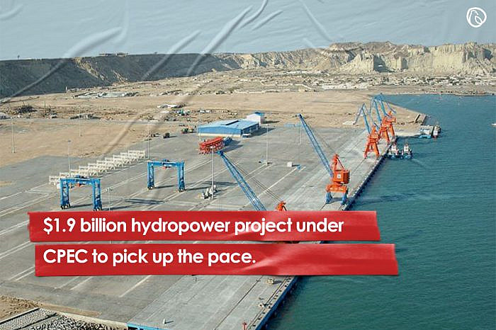$1.9 billion hydropower project under CPEC to pick up the pace