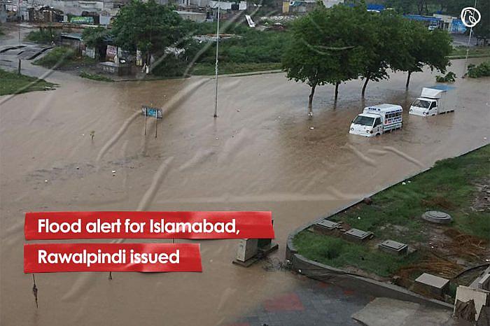 Flood alert for Islamabad, Rawalpindi issued