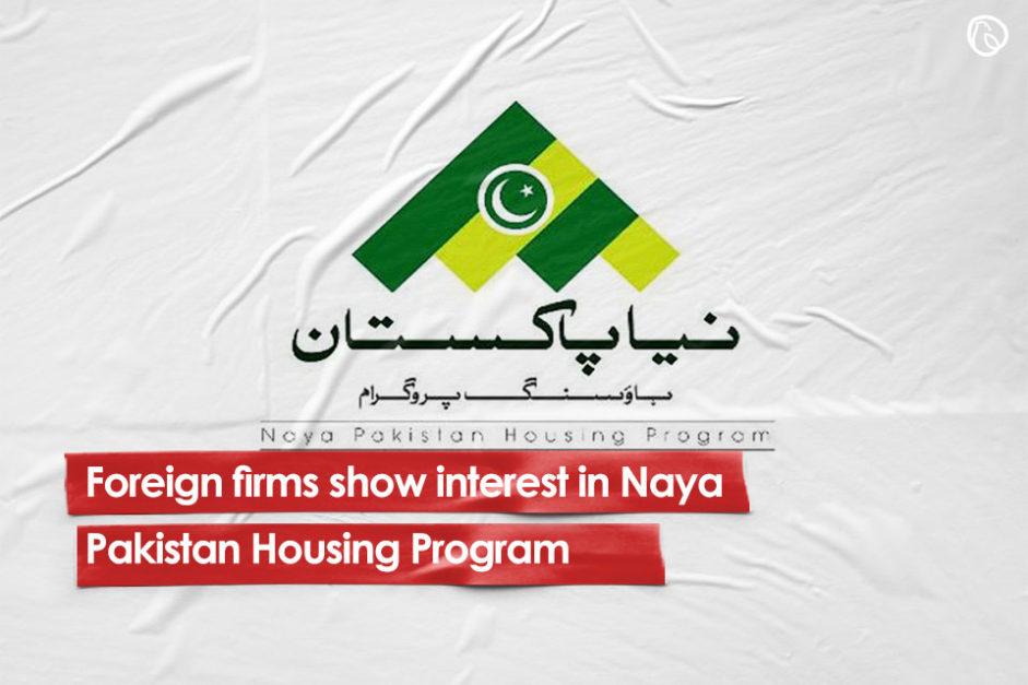 Foreign firms show interest in naya pakistan housing program