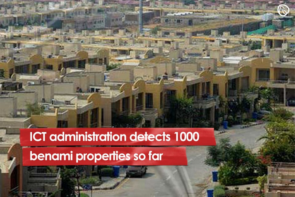 ICT administration detects benami properties
