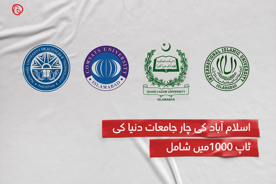 Islamabad's four universities appear among world top 1000 universities