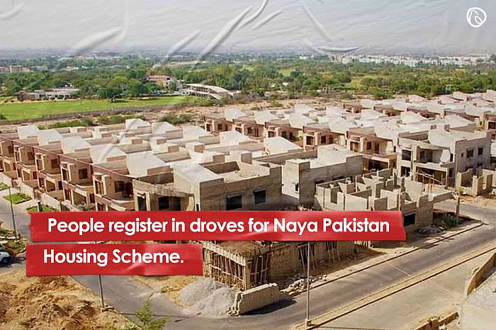 People register in droves for Naya Pakistan Housing Scheme