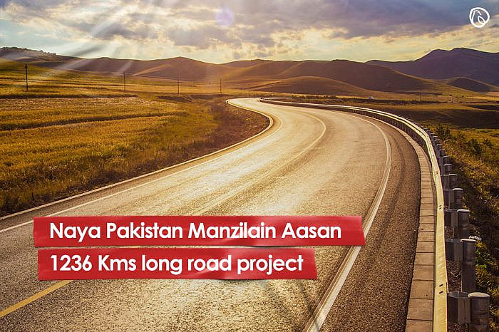 Naya Pakistan Manzilain Aasan - 1236 km long road project launched