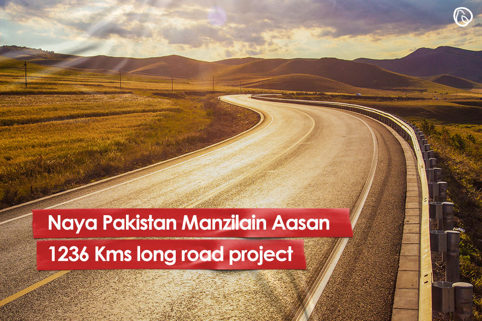 Naya Pakistan Manzilain Aasan Road Project