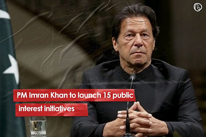 PM Imran Khan to launch 15 public interest initiatives