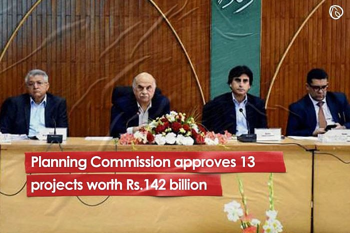 Planning Commission approves 13 projects worth Rs142 billion