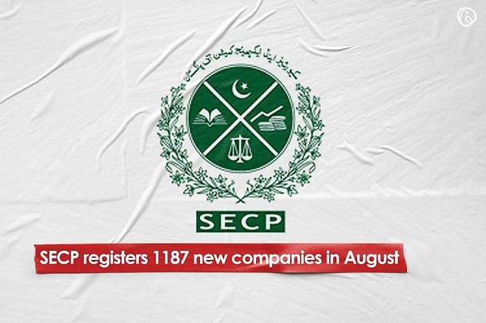 SECP registers 1,187 new companies in August