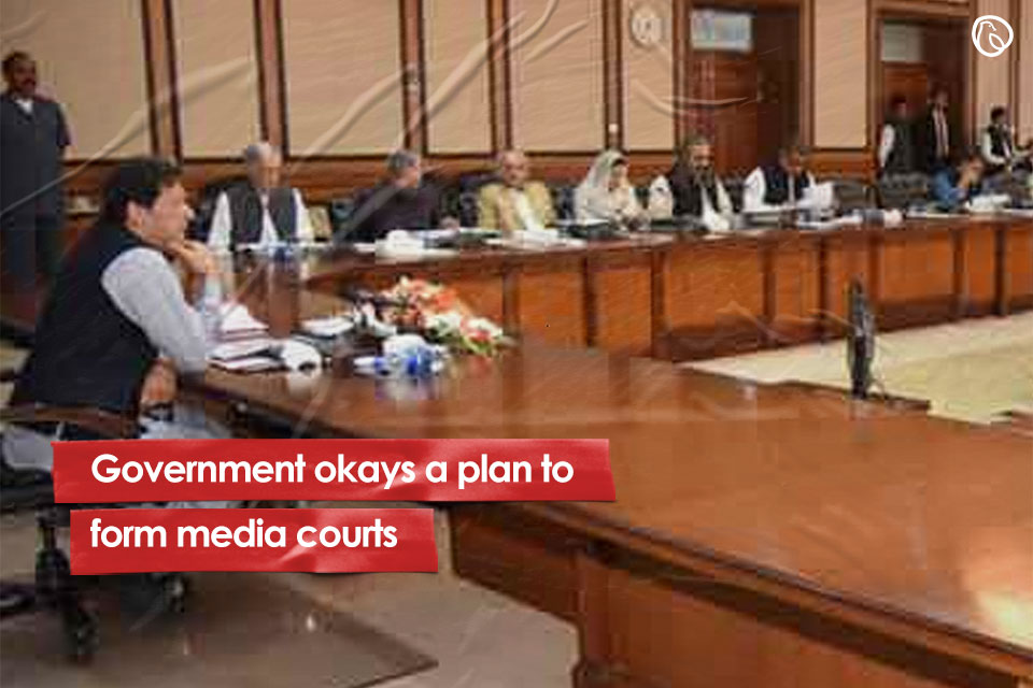 federal cabinet approves plan for establishing media courts