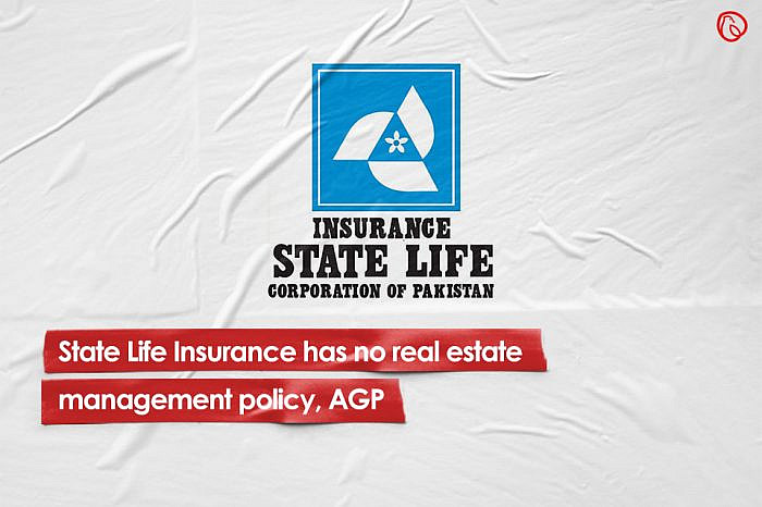 State Life Insurance has no real estate management policy, AGP