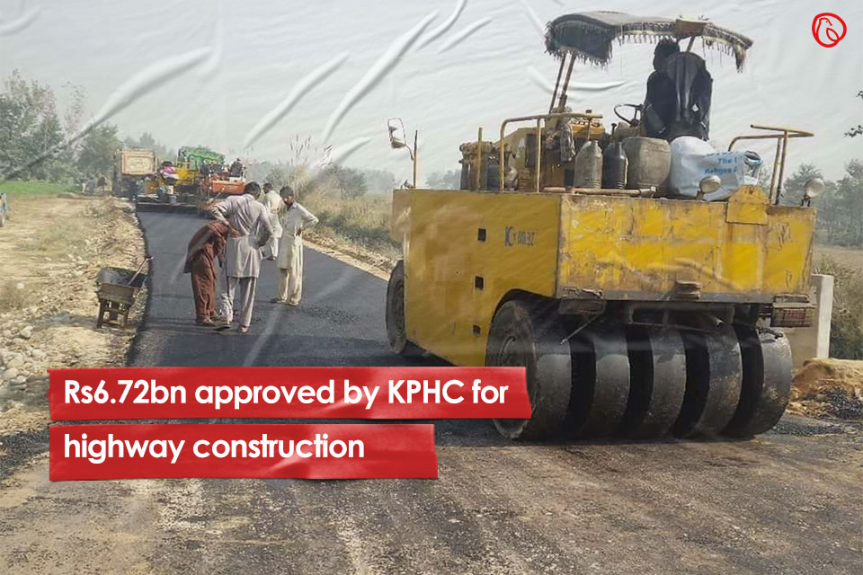 Rs6.72bn approved by KPHC for highway construction