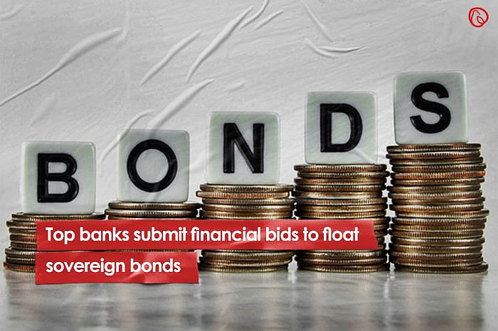 Top banks submit financial bids to float sovereign bonds
