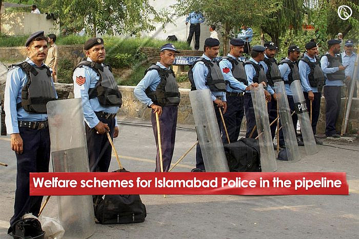Welfare schemes for Islamabad Police in the pipeline