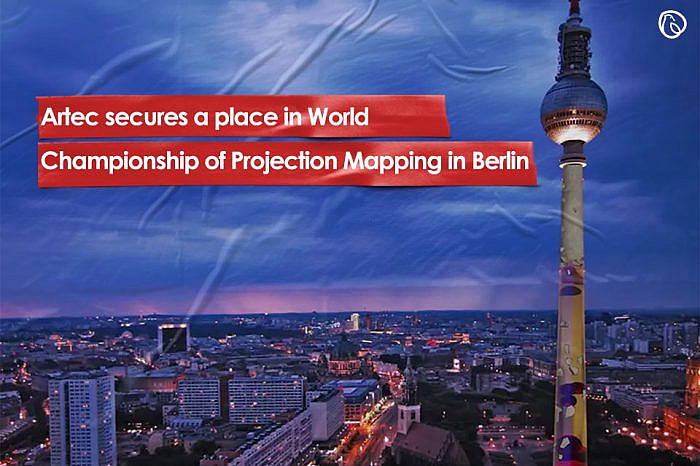 Artec secures a place in World Championship of Projection Mapping in Berlin