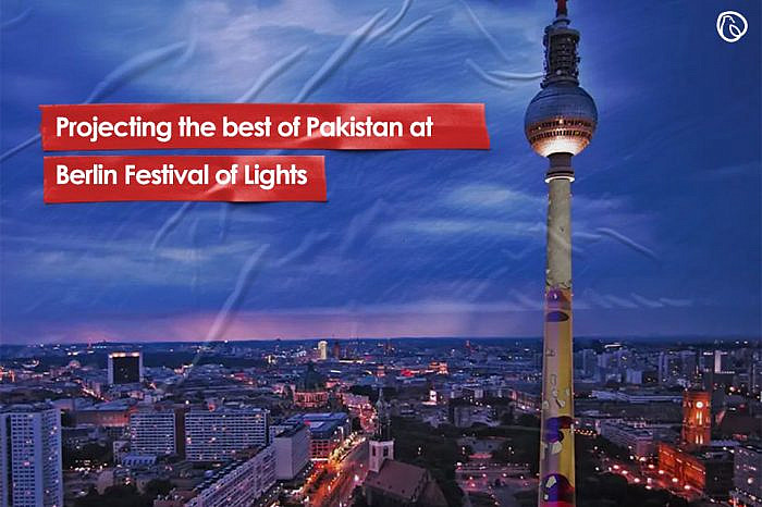 Projecting the best of Pakistan at Berlin Festival of Lights