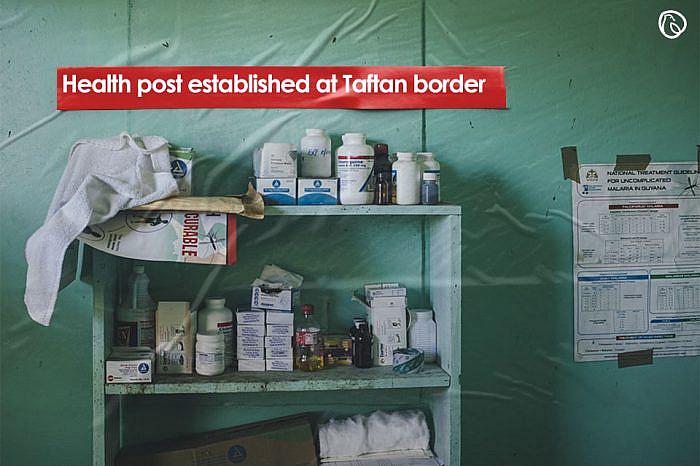 Health post established at Taftan border