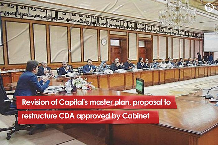 Revision of Capital's master plan, proposal to restructure CDA approved by Cabinet