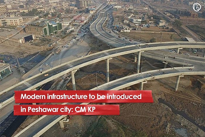 Modern infrastructure to be introduced in Peshawar city: CM KP