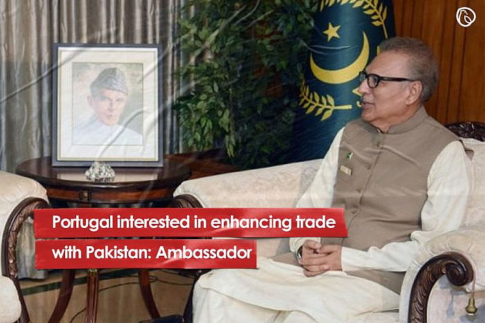 Portugal interested in enhancing trade with Pakistan: Ambassador